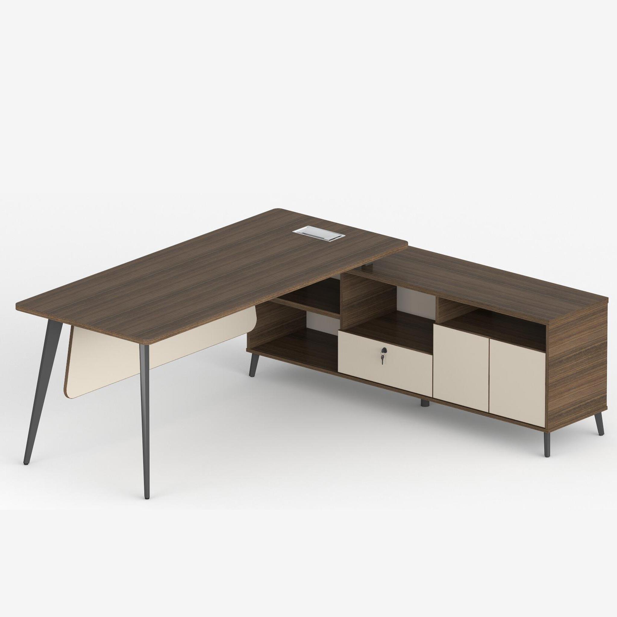 - L-Shaped Desk JD541-2017-L - Daily Vibe Interiors